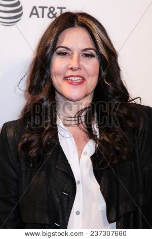 NEW YORK, NY - APRIL 21: Dava Whisenant attend the 'Bathtubs Over Broadway' screening during 2018 Tribeca Film Festival at BMCC Tribeca PAC on April 21, 2018 in New York City.
