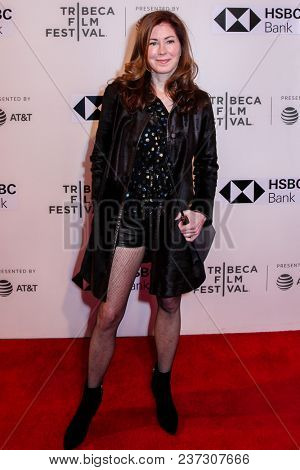 Dana Delany attends 'The Seagull' premiere during the 2018 Tribeca Film Festival at BMCC Tribeca PAC on April 21, 2018 in New York City.