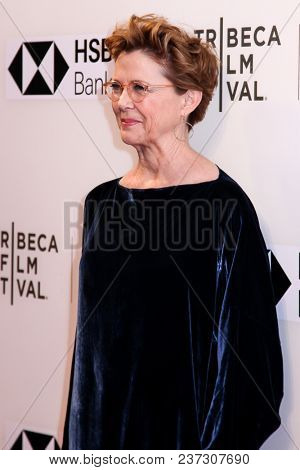 NEW YORK, NY - APRIL 21: Annette Bening attends 'The Seagull' premiere during the 2018 Tribeca Film Festival at BMCC Tribeca PAC on April 21, 2018 in New York City.