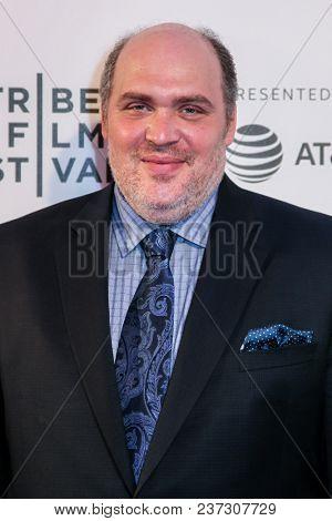 NEW YORK, NY - APRIL 21: Glenn Fleshler attends 'The Seagull' premiere during the 2018 Tribeca Film Festival at BMCC Tribeca PAC on April 21, 2018 in New York City.