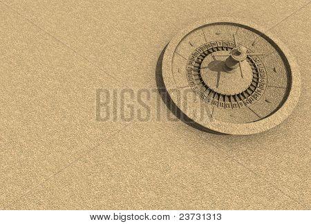 Sand Roulette wheel
