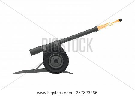 Ramadan Kareem, Holy Month Of Muslims, Holy Holiday, Islamic Event. Ancient Traditional Cannon With