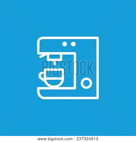 Icon Of Coffeemaker. Coffee Machine, Cup, Brewer. Coffee Shop Concept. Can Be Used For Topics Like M