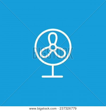 Icon Of Fan. Ventilator, Cooler, Equipment. Appliance Concept. Can Be Used For Topics Like Heat, Hom