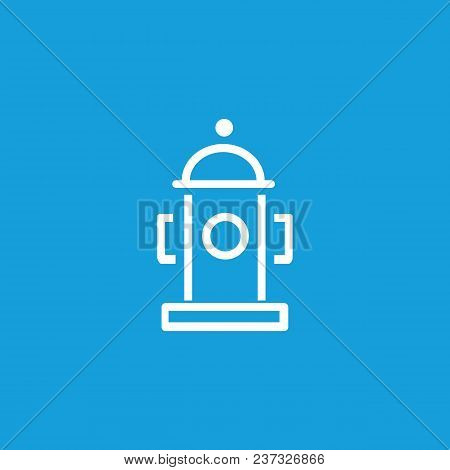 Line Icon Of Fire Hydrant. Fire Safety, Emergency, Fire Prevention. Water Concept. Can Be Used For S