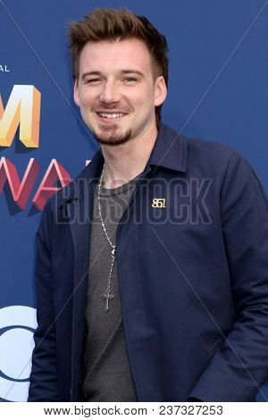 LAS VEGAS - APR 15:  Morgan Wallen at the Academy of Country Music Awards 2018 at MGM Grand Garden Arena on April 15, 2018 in Las Vegas, NV