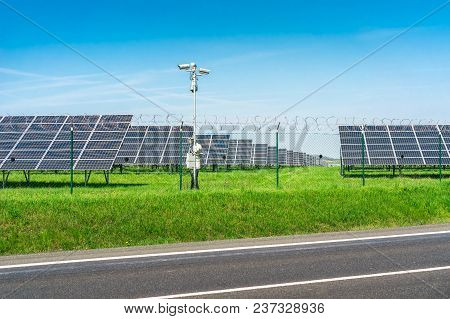 Solar Power Plant Using Renewable Energy From The Sun