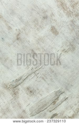 Abstract White Wooden Or Pattern On White Background. Vintage White Wooden Wall Background. White Em