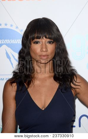 LOS ANGELES - APR 21:  Monique Coleman at the 9th Annual Thirst Gala on the Beverly Hilton Hotel on April 21, 2018 in Beverly Hills, CA