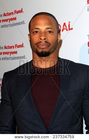 LOS ANGELES - APR 19:  Cornelius Smith Jr at the The Actors Fund's