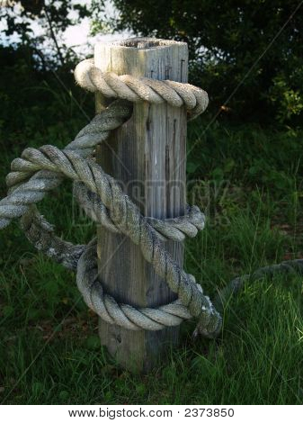 Nautical Fence Post