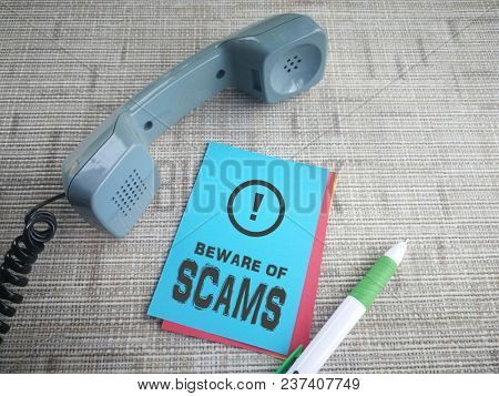 Beware of telephone scams