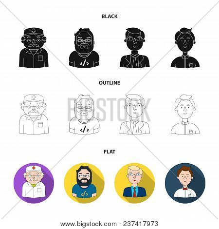 Doctor Dressing-gown Vector & Photo (Free Trial) | Bigstock