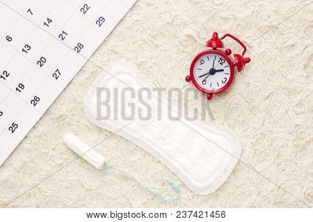 Sanitary Menstruation Pad For Woman Menstrual Period