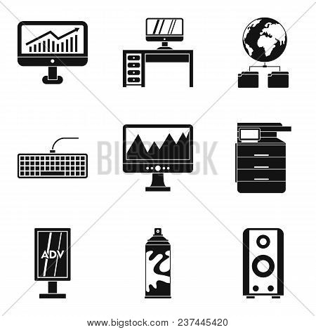 Programmer Icons Set. Simple Set Of 9 Programmer Vector Icons For Web Isolated On White Background