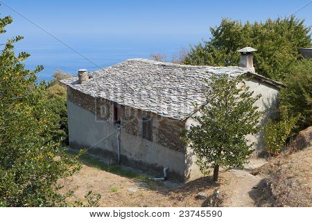 'Mouresi' area of Pelion in Greece
