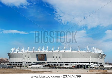 Football Stadium Rostov Arena. The Stadium For The 2018 Fifa World Cup. Russia, Rostov-on-don