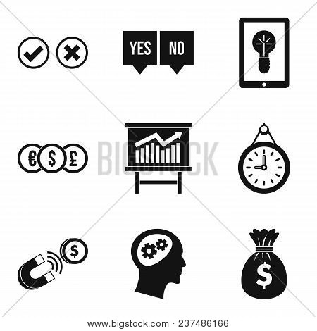Qualified Personnel Icons Set. Simple Set Of 9 Qualified Personnel Vector Icons For Web Isolated On