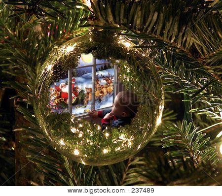 Zach In Ornament