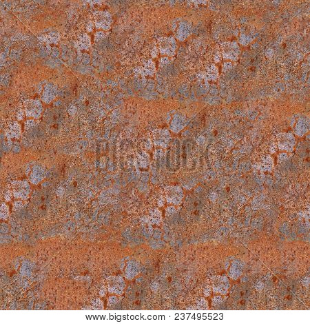 Scratched And Grunge Metal Sheet Texture And Seamless Background