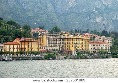 The Lakeside Hamlet Of Cadenabbia On The West Shore Of Lake Como - Lombardy, Italy, 19 July 2008