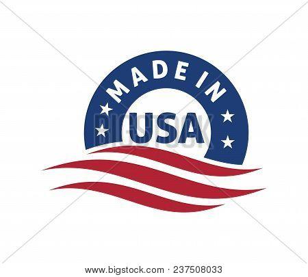 Made In America Vector Logo Design