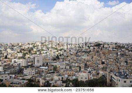 View of Hebron city.