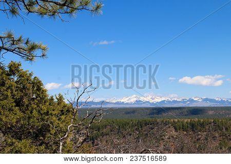 Beautiful Spring Day In Dolores Of Colorado
