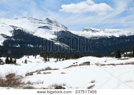 Spring Time At Molas Pass In Colorado