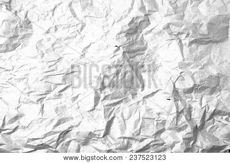Grunge Crumpled Paper Overlay Background