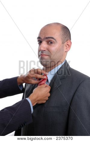 Two Hand Adjusting Tie