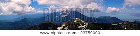 Mount Timpanogoos Panorama