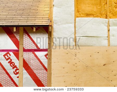 Wall insulation to save heating energy