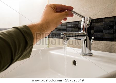 Poor Water Pressure In The Bathroom Faucet