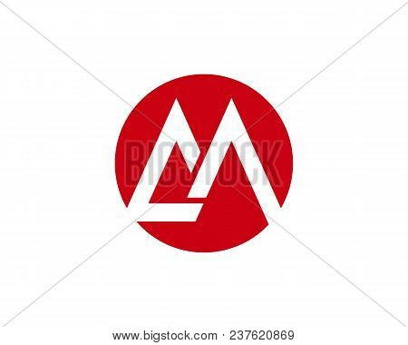 M Letter Logo Business Template Vector Icon,