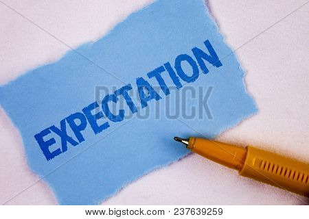 Text Sign Showing Expectation. Conceptual Photo Meteorological Research Analyst Predicts Weather For