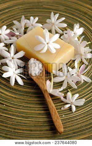 bath concept. Natural beauty health therapy