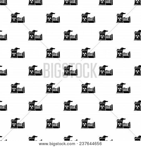 Atomic Reactor Pattern Vector Seamless Repeating For Any Web Design