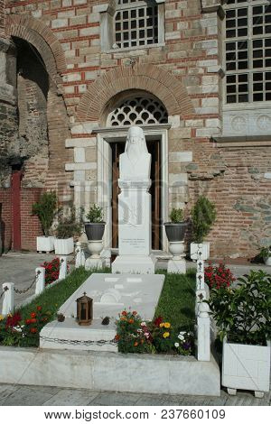 Hagios Demetrios Was Originally Built In The 4th Century In Thessaloniki, Greece. It Has Been Rebuil