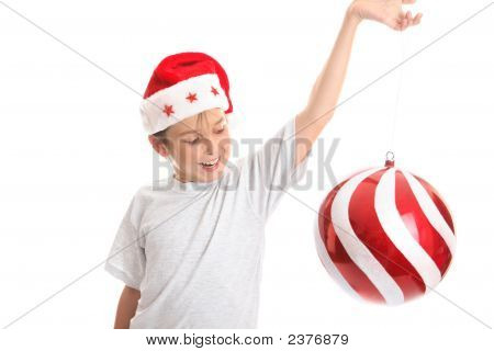 Child Spinning Large Bauble