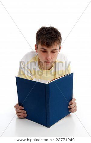 Boy Reading Learning Studying