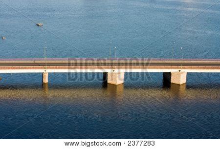 Bridge View Frop Above, Top, Bird'S Eye