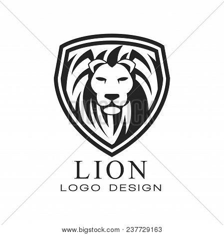Lion Logo Design, Classic Vintage Style Element For Poster, Banner, Embem, Badge, Tattoo, T Shirt Pr