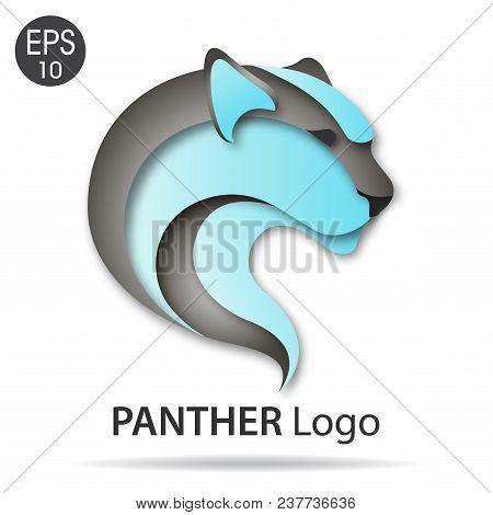 panther logo elegant vector photo free trial bigstock
