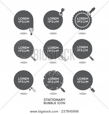 Stationary Speech Bubble