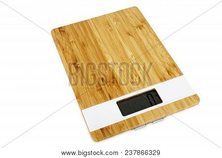 Digital Kitchen Scale Isolated On White Background