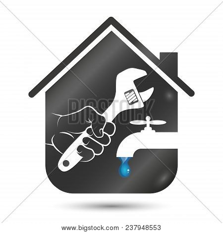 Repair Of Plumbing And Plumbing In The House Is A Symbol For Business
