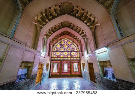 Shiraz, Iran - October 23, 2016: Interior Of Karim Khan Citadel In Shiraz City