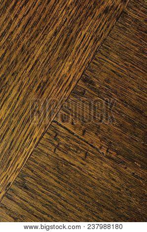 Oak Grain Veneer Texture Background, Dark Black Brown Natural Vertical Scratched Textured Diagonal P