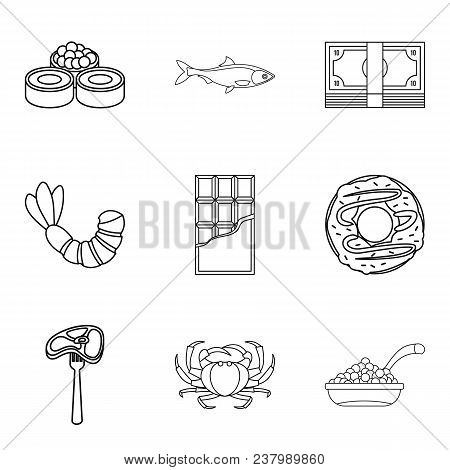 Tenderly Icons Set. Outline Set Of 9 Tenderly Vector Icons For Web Isolated On White Background
